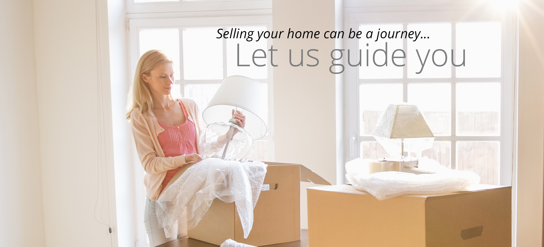 Selling your home can be a journey, let us guide you.